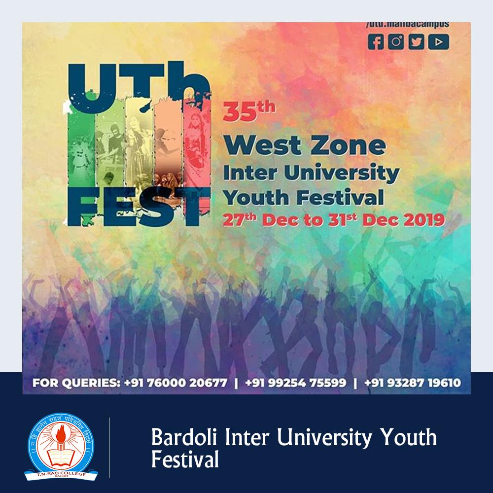 Bardoli Inter University Youth Festival